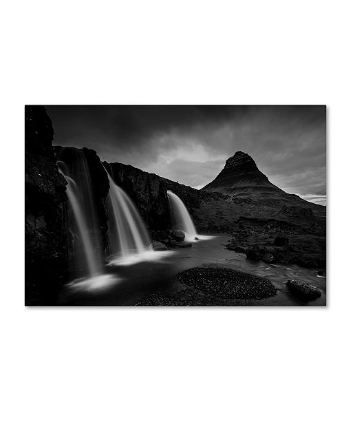 "Trademark Innovations Nina Pauli 'Kirkjufell Iceland' Canvas Art - 19"" x 12"" x 2"""