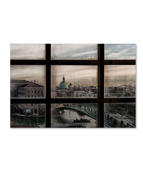 "Trademark Global Roberto Marini 'Venice Window' Canvas Art - 24"" x 16"" x 2"""