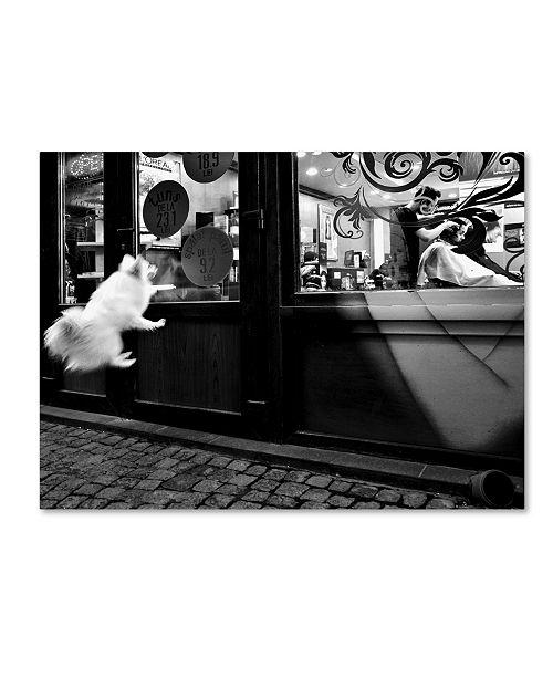 """Trademark Global Mirela Momanu 'Last Customer' Canvas Art - 19"""" x 14"""" x 2"""""""