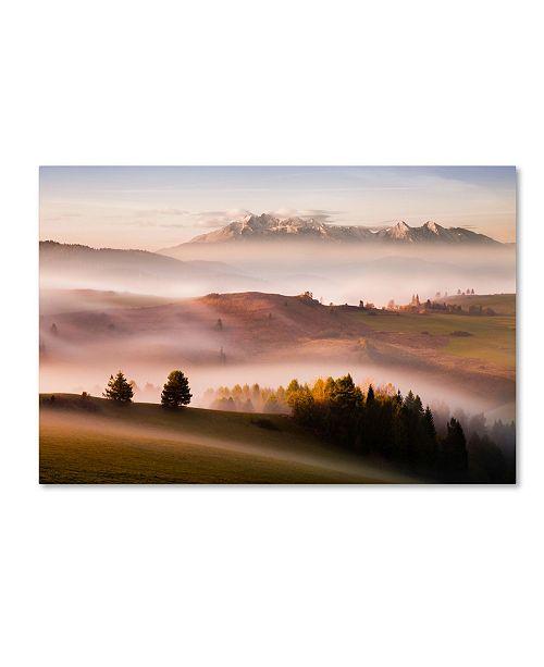 "Trademark Global Peter Svoboda 'Just A Silence' Canvas Art - 19"" x 12"" x 2"""
