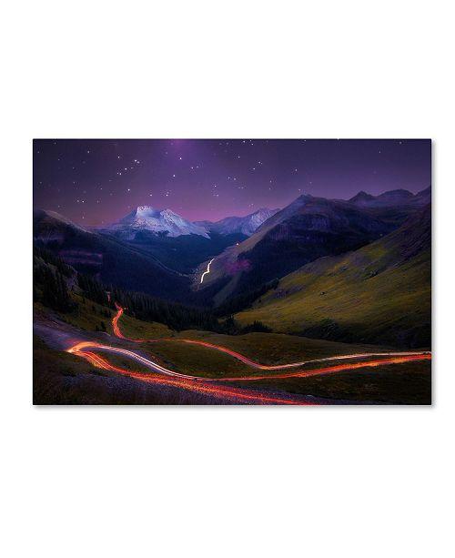 """Trademark Global Taylor Franta 'Ascendancy' Canvas Art - 47"""" x 30"""" x 2"""""""