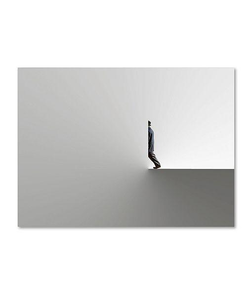 "Trademark Global Natalia Baras 'Hidden' Canvas Art - 47"" x 35"" x 2"""