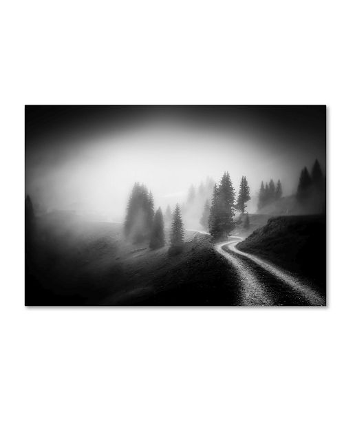 """Trademark Global Nic Keller 'In The Mountains' Canvas Art - 32"""" x 22"""" x 2"""""""