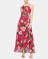 dad3a0e98ff9 SL Fashions Sleeveless Printed Halter Maxi Dress