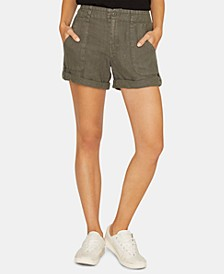 Explorer Patch-Pocket Utility Shorts