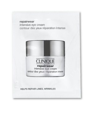 Receive a Free Clinique Repairwear Intensive Eye Cream Sample with any beauty or fragrance purchase