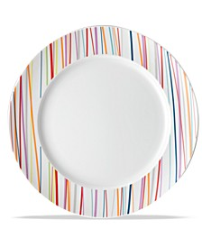S Thomas by Sunny Day Stripes Salad Plate