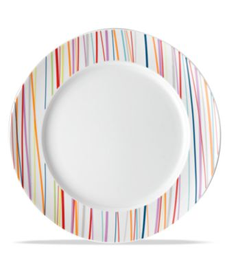 $17.00  sc 1 st  Macyu0027s & Rosenthal THOMAS by Dinnerware Sunny Day Stripes Salad Plate ...
