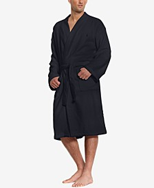 Men's Sleepwear Soft Cotton Kimono Velour Robe