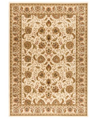 "CLOSEOUT! Area Rug, Warwick Kashan Wheat/Wheat 3'3"" x 5'3"""