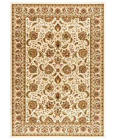 "CLOSEOUT! Kenneth Mink Area Rug, Warwick Kashan Wheat/Wheat 5'3"" x 7'7"""