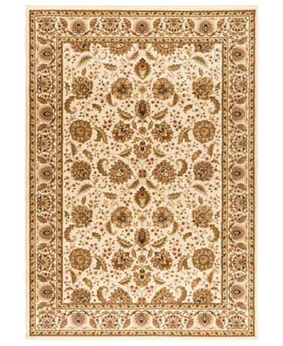 CLOSEOUT! Kenneth Mink Area Rug, Warwick Kashan Wheat/Wheat 5'3