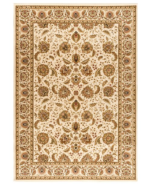 Kenneth Mink Closeout Area Rug Warwick Kashan Wheat