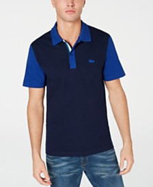 Lacoste Men's Colorblocked Polo, Created for Macy's