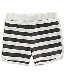 Toddler Boys Striped Knit Shorts, Created for Macy's