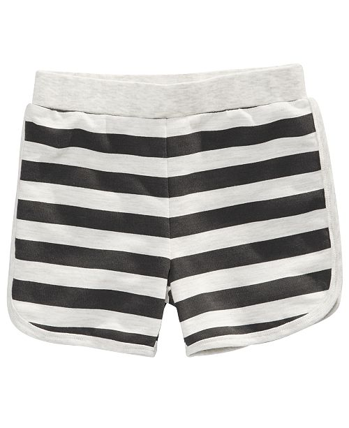First Impressions Baby Boys Striped Knit Shorts, Created for Macy's