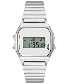 I.N.C. Women's Digital Stainless Steel Bracelet Watch 33.5mm