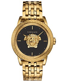 LIMITED EDITION Men's Swiss Palazzo Empire Gold Ion-Plated Stainless Steel Bracelet Watch 43mm, Created for Macy's