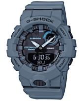 fb5f0b124246 G-Shock Men s Analog Digital Step Tracker Gray-Blue Resin Strap Watch 48.6mm