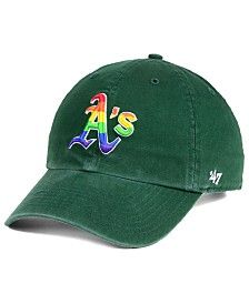 '47 Brand Oakland Athletics Pride CLEAN UP Strapback Cap