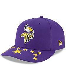 New Era Minnesota Vikings Draft Low Profile 59FIFTY-FITTED Cap