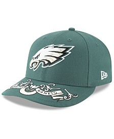 New Era Philadelphia Eagles Draft Low Profile 59FIFTY-FITTED Cap