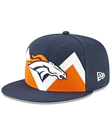 New Era Denver Broncos Draft 9FIFTY Snapback Cap