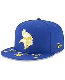 New Era Minnesota Vikings Draft Spotlight 9FIFTY Snapback Cap