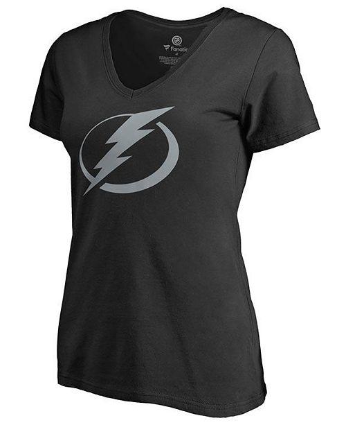 Majestic Women's Tampa Bay Lightning Alternate Logo T-Shirt