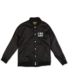 LRG Men's Logo Graphic Bomber Jacket