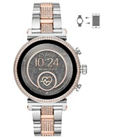 6fc5d1e41c9b Michael Kors Access Women s Sofie Heart Rate Two-Tone Stainless Steel  Bracelet Touchscreen Smart Watch
