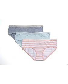 Tahari Girl 3-Pack Striped Hipster