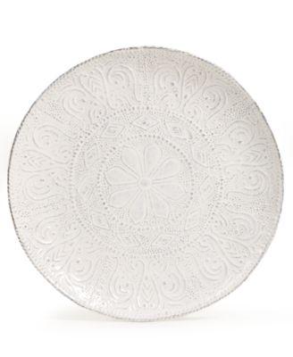 Blanc Colette Salad Plate