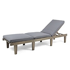 Ariana Outdoor Chaise, Quick Ship