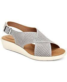 Giani Bernini Falalah Wedge Sandals, Created for Macy's