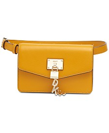 DKNY Elissa Leather Belt Bag, Created for Macy's