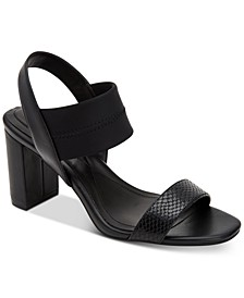 Women's Fllip Neoprene Dress Sandals, Created for Macy's