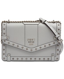 DKNY Whitney Studded Shoulder Bag, Created for Macy's