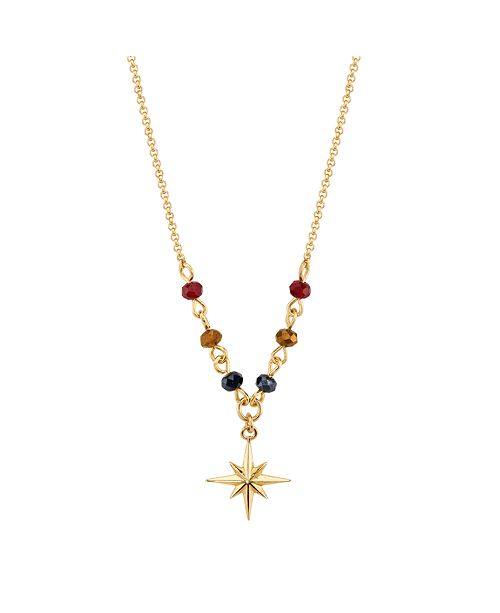 """Marvel Star Pendant Necklace in Gold-Tone Sterling Silver for Unwritten, 16"""" + 2"""" extender"""
