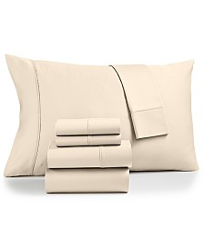 Fairfield Square Collection Sydney 6-Pc. Extra Deep Pocket Queen Sheet Set, 825-Thread Count Egyptian Blend, Created for Macy's