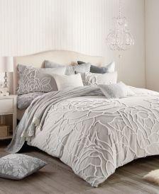 Home Chenille Rose Full/Queen Comforter Set