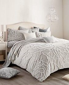 Peri Home Chenille Rose Full/Queen Comforter Set