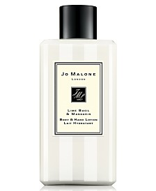 Jo Malone London Lime Basil & Mandarin Body & Hand Lotion, 3.4-oz.