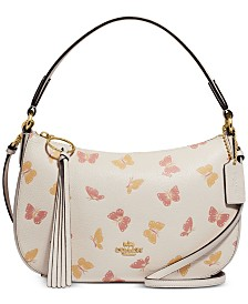 COACH Butterfly Print Sutton Crossbody