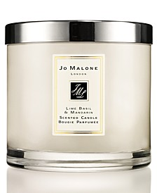 Lime Basil & Mandarin Deluxe Candle, 21.1-oz.