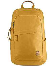 Fjällräven Men's Raven Backpack with Padded Laptop Compartment