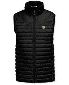 Fjallraven Men's Abisko Quilted Full-Zip Vest