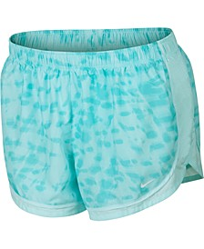 Plus Size Tie-Dyed Tempo Running Shorts