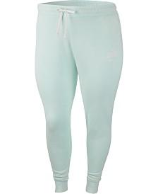 Nike Plus Size Sportswear Cotton Sweatpants