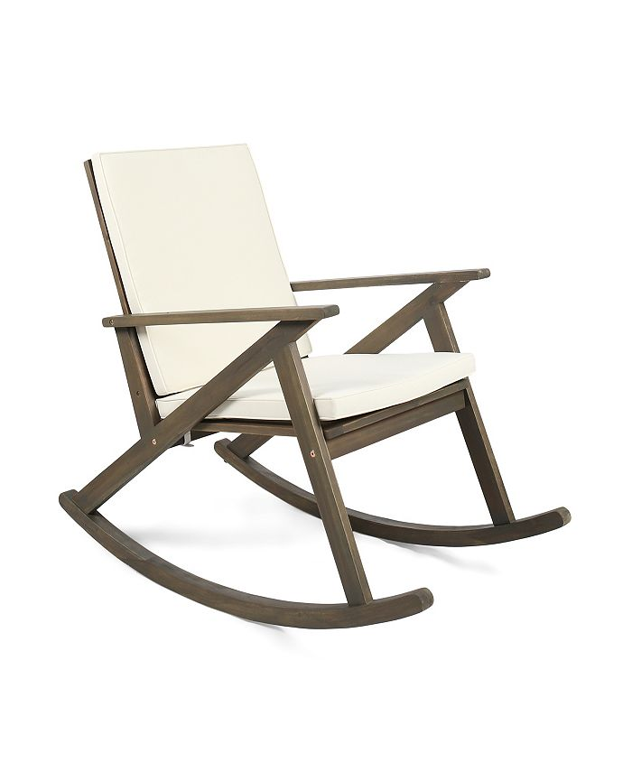 Noble House - Gus Outdoor Rocking Chair